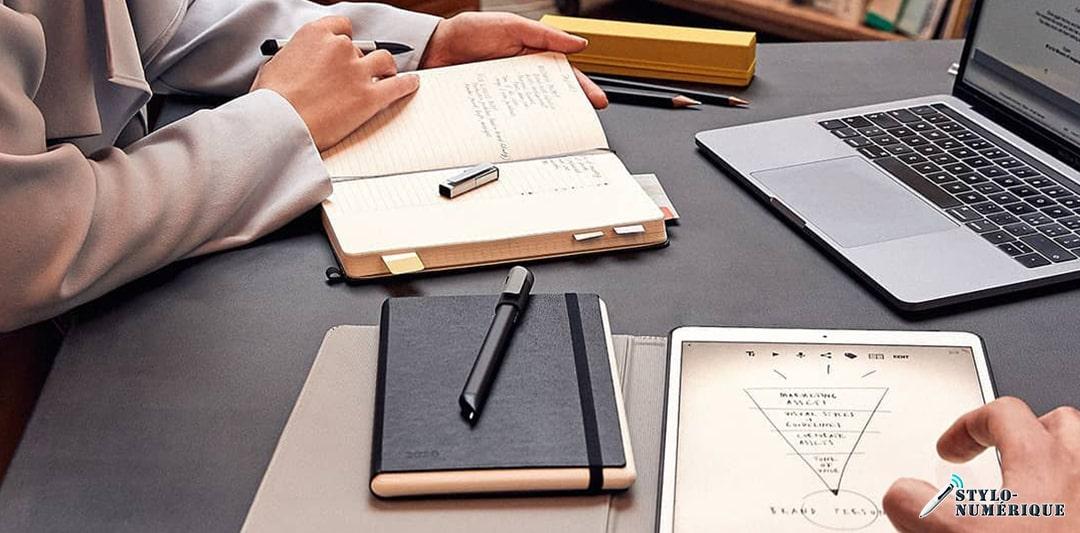 comment utiliser un stylo connecté ?