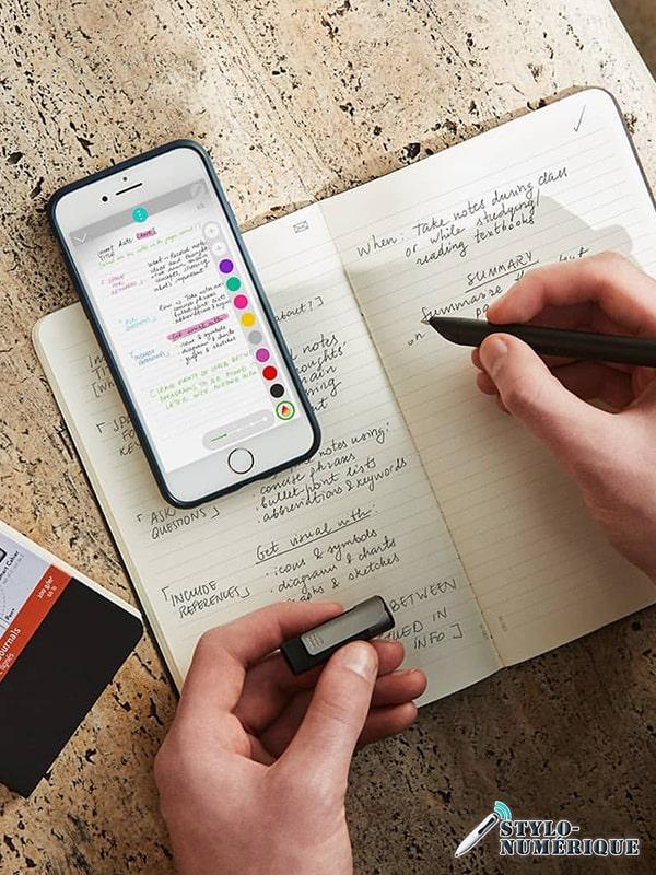stylo connecte technologie