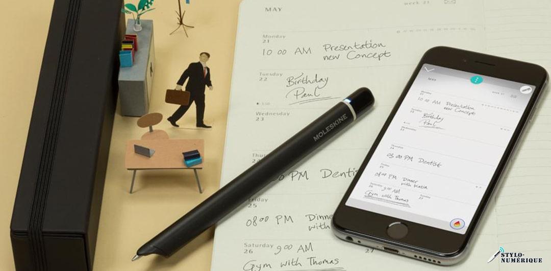 comment connecter stylo numérique