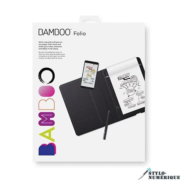wacom bamboo folio a5